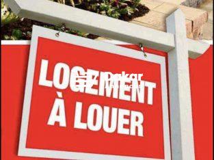 À louer aux parcelles un appartement