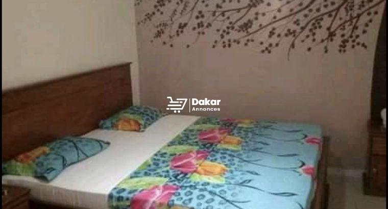 Chambres meublées à louer à keur Gorgui
