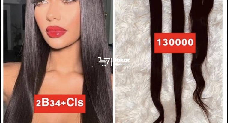Purs cheveux Naturels à vendre