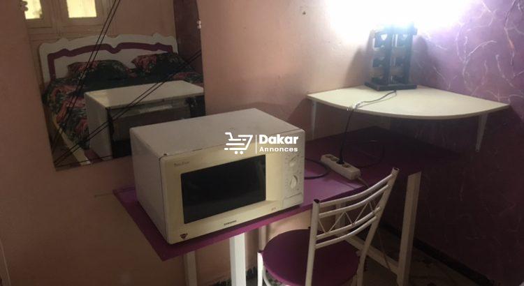 Chambre meublée à Amitié 2( mensualité)