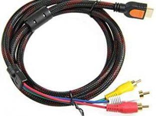 cable hdmi en 3rca