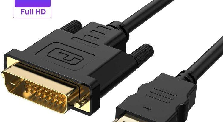 cable hdmi en Dvi