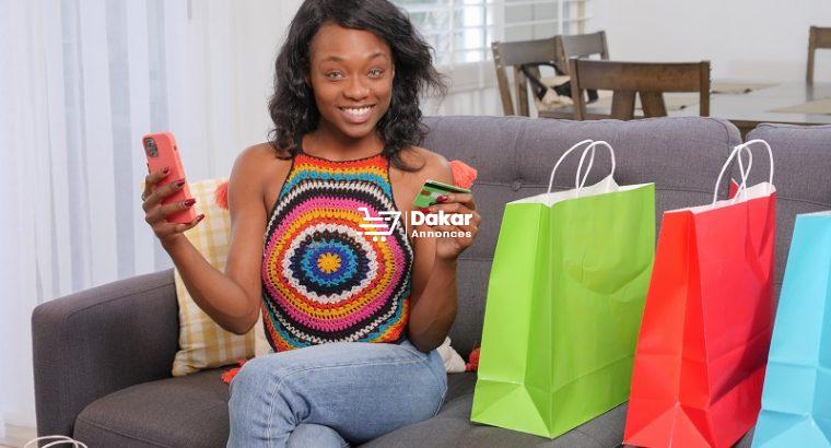 Vente d'habillement en ligne à Dakar