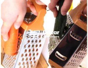 Grattoir inox manchette plastique