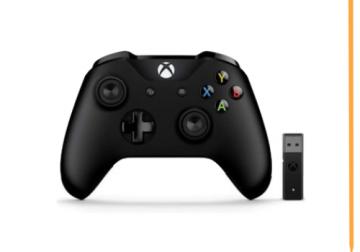 Manette sans fil Xbox + Adaptateur sans fil