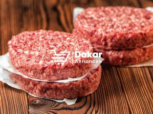 Steak haché de bœuf en BARQUETTE de 500g