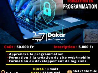 Formation en Programmation