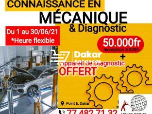 CONNAISSANCE EN MECANIQUE ET DIAGNOSTIC