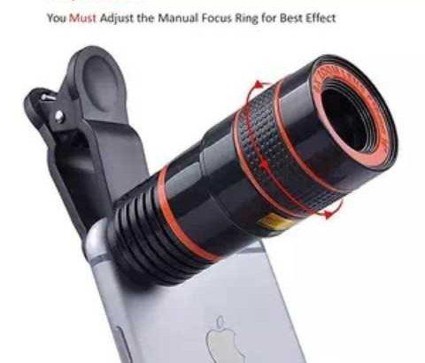 zoom télescope pour smartphone×12