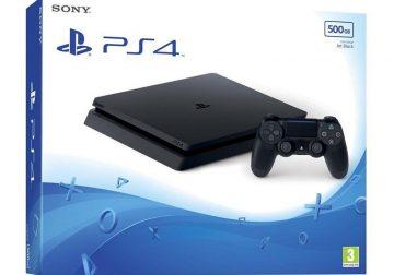 PS4 Slim neuf 500Go + 2 jeux
