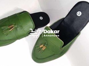 Babouches chaussures de classe