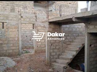 Vente de maison en construction à Pikine