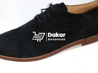 Chaussure classe Homme daim