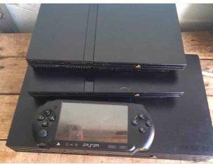 je vente des consoles de jeux vidéo