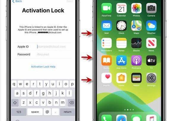 Déblocage de compte icloud d'un iphone