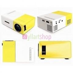 Mini Portable Vidéo Projecteur YG300 Full HD 1080p