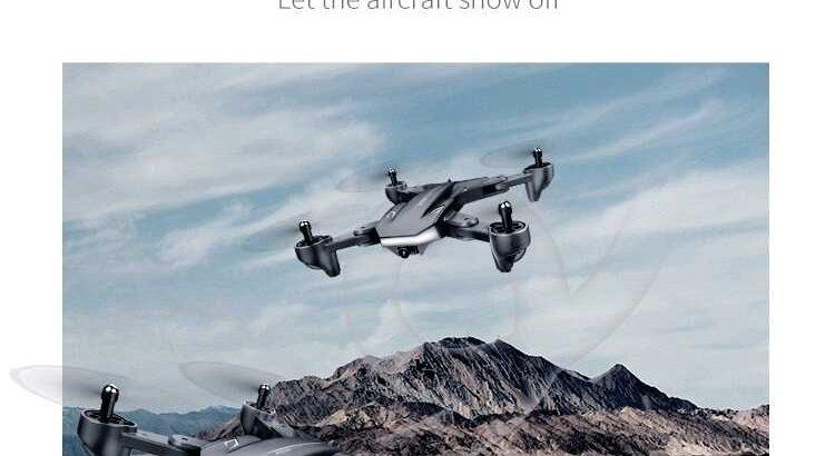 Drone wifi Dual cameras visuo xs 816