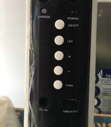 Ventilateur Rechargeable 18″