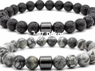 Bracelets en pierres semi-précieuses pour coup´e