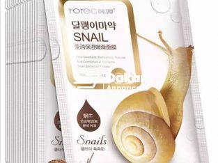 Masque de Visage à base de bave d'escargot