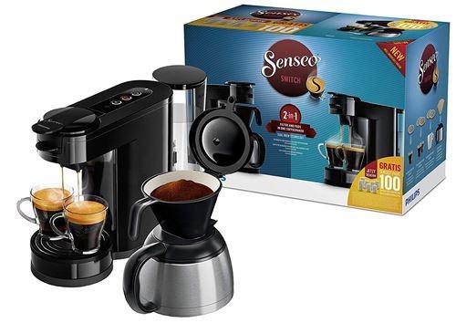 A VENDRE Machine à café à dosettes et filtre Senseo Switch