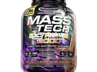 Protéine masstech extrem 2000 de 3,18 kg